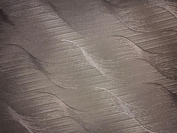 Р4 Ткань подкладочная жаккардовя волна 210Т 150см цв.бежевый(в рул.50м)