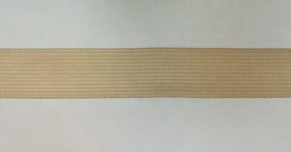 291 Окантовочная лента 22мм цв.бежевый(в рул.100м)