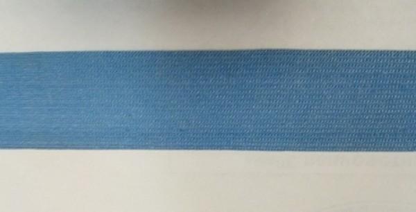 191 Окантовочная лента 30мм цв.голубой(в рул.100м)