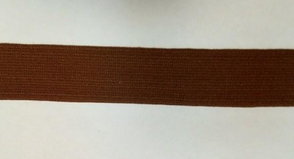 229 Окантовочная лента 30мм цв.коричневый(в рул.100м)