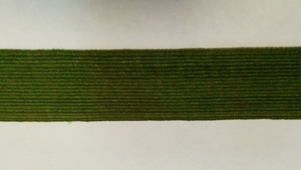 264 Окантовочная лента 30мм цв.хаки(в рул.100м)