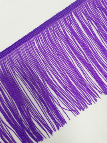 Бахрома 15см №1 цв.фиолетовый(в упак.9,2м)