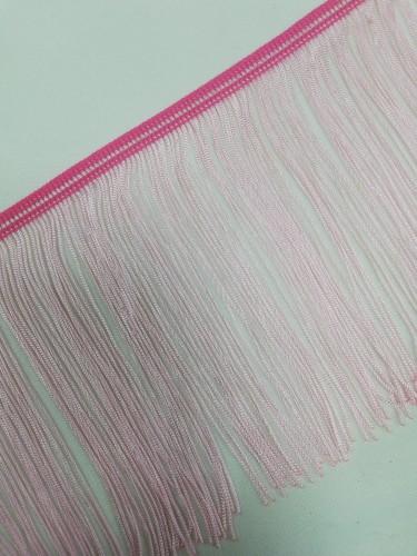 Бахрома 15см №13 цв.светло-розовый(в упак.9,2м)