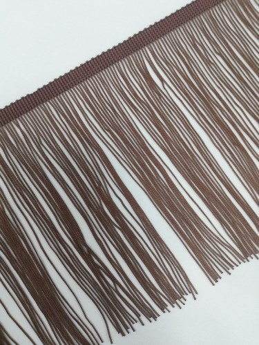 Бахрома 15см №16 цв.коричневый(в упак.9,2м)