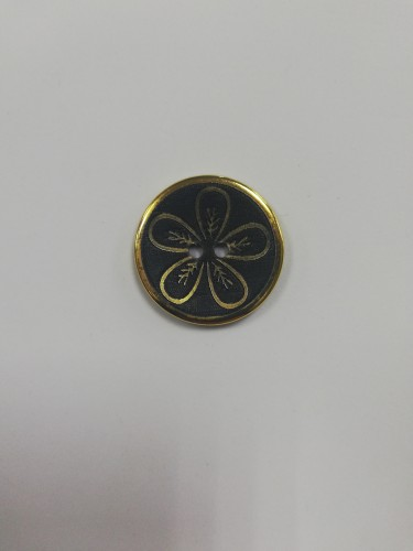 023NEW Пуговица металлическая №48 30мм цв.золотой(в упак.250шт,в кор.№391,в кор.№530)