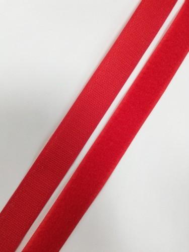 Липучка 025мм цв.красный(в рул.25м)