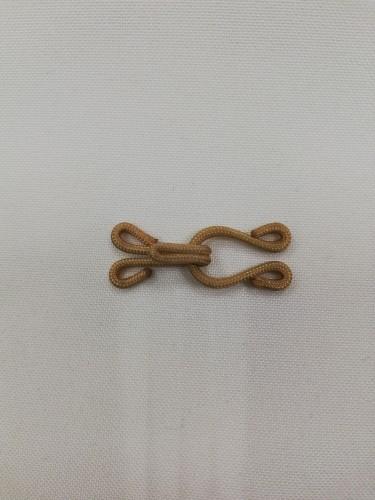 Крючки обтяжные пришивные 2см №1336 цв.бежевый(в упак.1000шт)