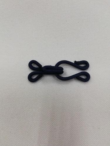 Крючки обтяжные пришивные 2см №1259 цв.т.синий(в упак.1000шт)
