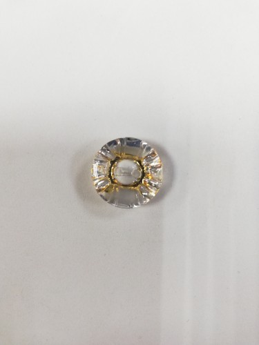 1624 Пуговица №32 20мм цв.прозрачно-золотой(в упак.1000шт)