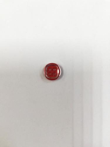 1629 Пуговица №18 11,5мм цв.красный(в упак.2000шт)