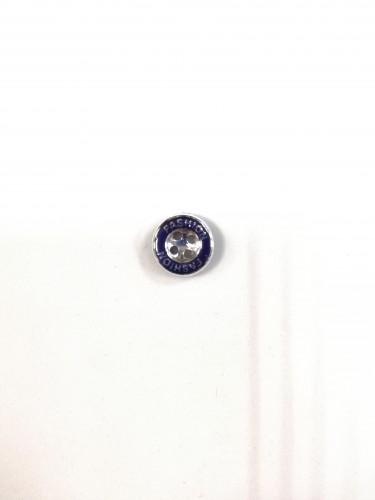 1628 FASHION Пуговица №18 11,5мм цв.т.синий(в упак.2000шт)
