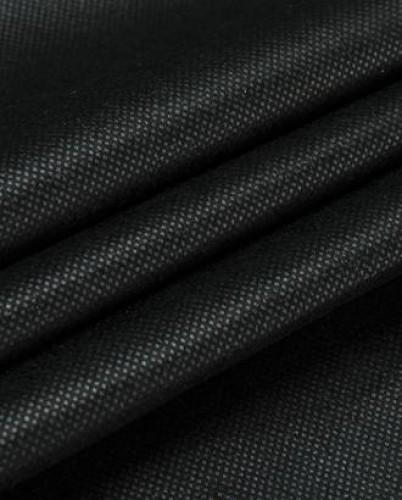 TS025 Флизелин точечный 25г/м 90см цв.черный(в рул.100м)