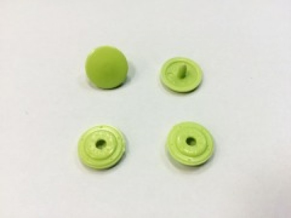 Кнопка пластиковая 13мм цв.салатовый(в упак.1000шт)