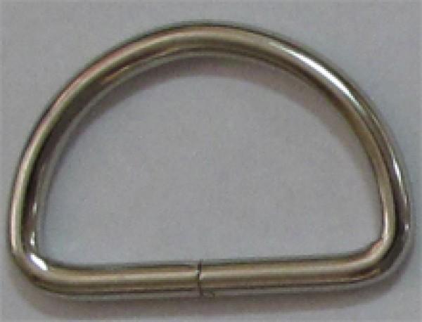 Полукольцо 4*45мм цв.никель(в упак.500шт)