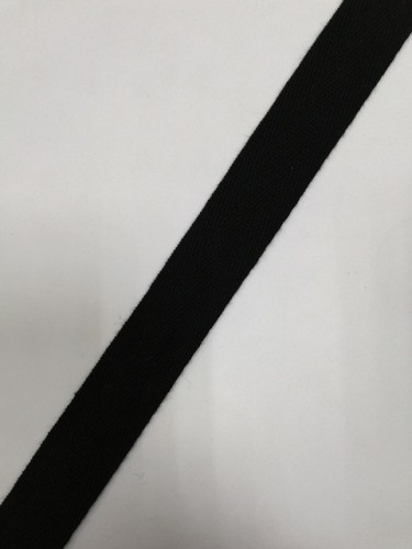 Киперная лента 25мм цв.черный(в рул.50м)
