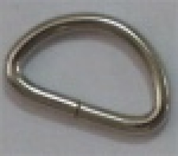 Полукольцо 3*14*10мм цв.никель(в упак.500шт)