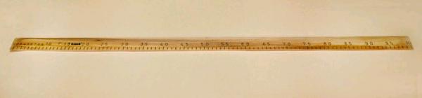 Сантиметр деревянный