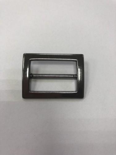 11320АА Пряжка-рамка металлическая 3см цв.ч.никель(в упак.100шт)