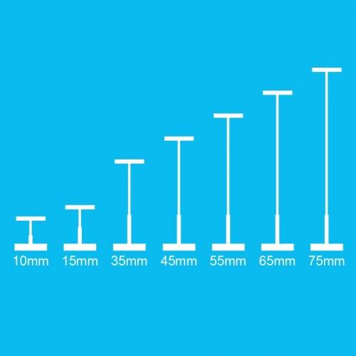 Биркодержатель 15мм(в упак.10000шт)