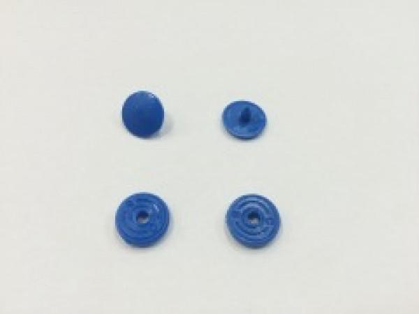 Кнопка пластиковая 10,5мм цв.василек(в упак.1000шт)