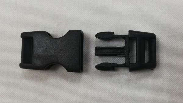 Фастекс пластиковый №9036 11мм цв.черный(в упак.100шт)