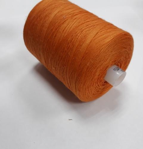 128 Нить 45ЛЛ 100% ПЭ 2500м цв.оранжевый(в упак.20шт)