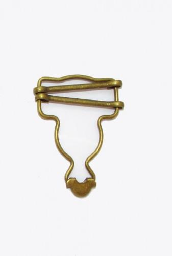 Пряжка для комбинезона 7411-066 35мм цв.золото(в упак.500шт)
