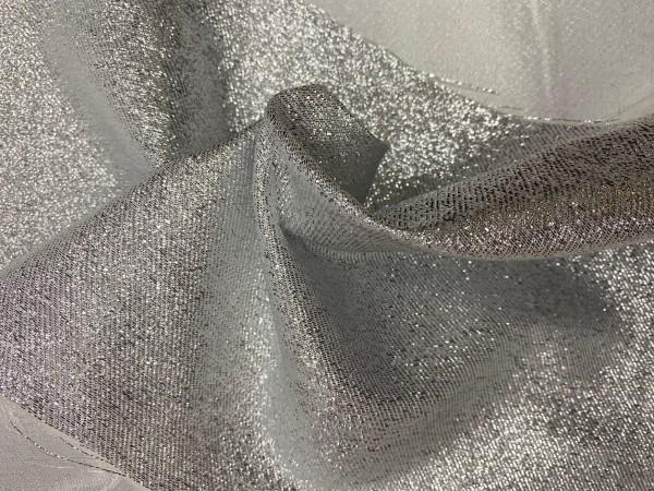 Leydi B. Ткань нарядная шир.300см цв.V4 серебро(в рул.39.5м)