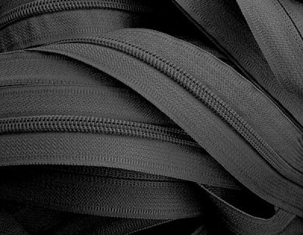 322 Молния спираль Т3 рулонная цв.черный(в рул.400м)