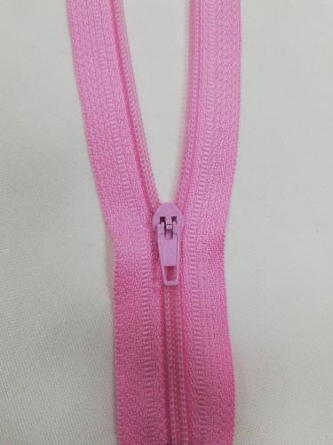 134 Молния спираль Т4 20см неразъемная цв.розовый(в упак.100шт)