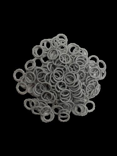 Бельевое кольцо регулировочное металлическое 10мм цв.серый(в упак.1000шт)