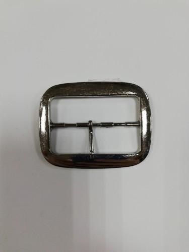 2785TMR Пряжка декоративная 5,8см цв.никель(в упак.100шт)