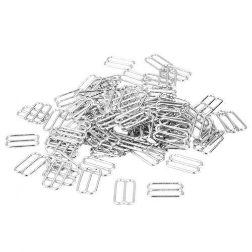 Бельевая рамка регулировочная металлическая 15мм цв.никель(в упак.1000шт)