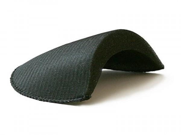 Плечевые накладки В-25 обшитые цв.черный(в упак.100пар)