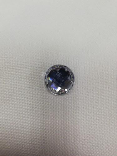 1855 Стразы кристальные пришивные круг 14мм Crystal(в упак.720шт)