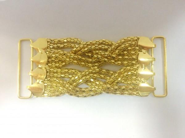 1006 Пряжка декоративная цв.золото(в упак.10шт)