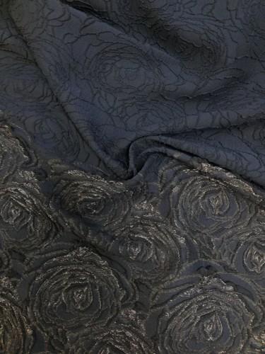 MILANO Ткань нарядная шир.142см цв.3475 V30 т.синий(в рул.40+48м)