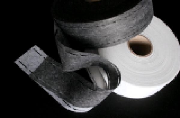 Лента перфорированная 10*40*10мм точечный цв.белый(в рул.100м)